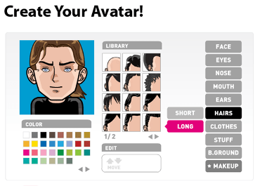 Integrating ICT into the MFL classroom Face your manga and create an avatar