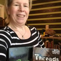Lisa Lauenberg with Small Things and Threads.