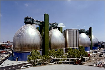 Newton Creek Wastewater Treatment Plant, Image courtesy of NYC.GOV