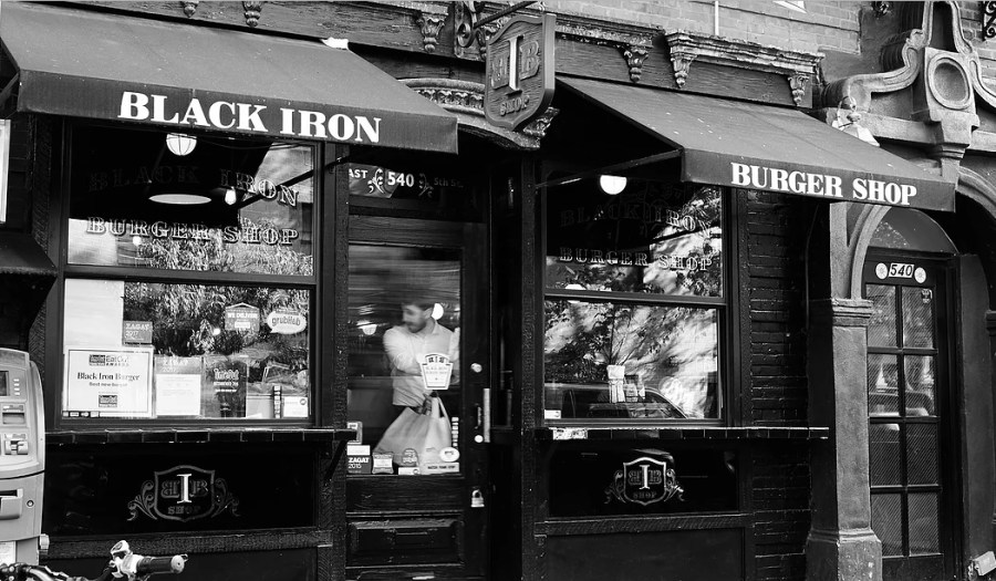 black iron burger