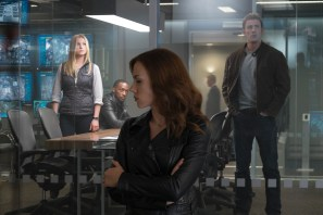 Agent 13, Black Widow, Captain America