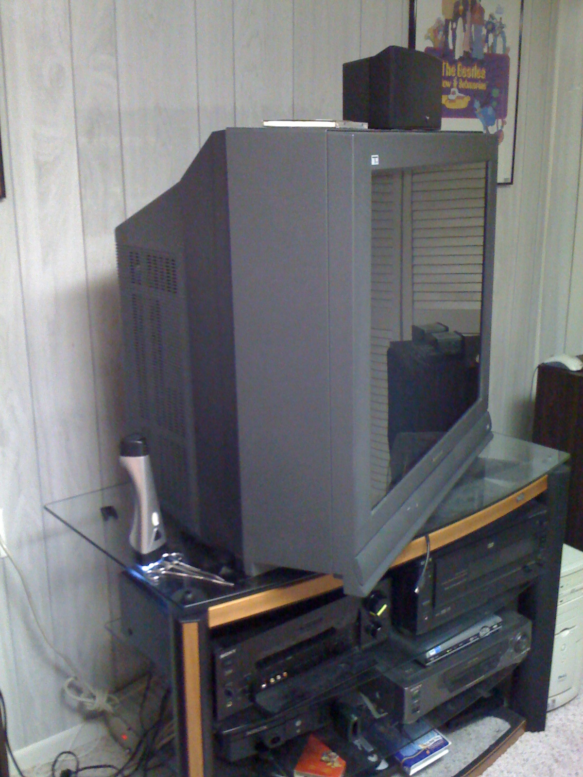 Replacing The Fuse In A Panasonic Tau Tv Ah 120 Box