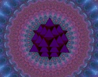 sacred geometry tetrahedron grid 64