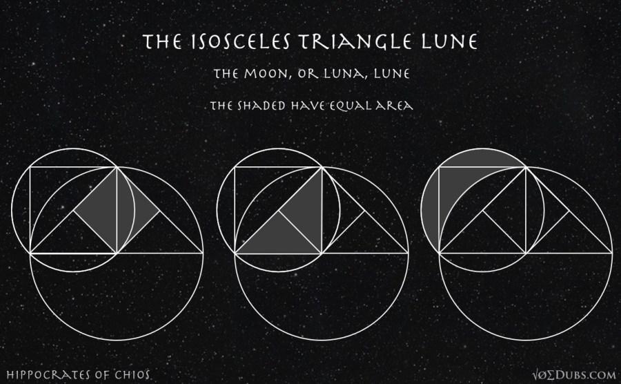 Isosceles Triangle Lune