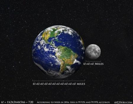 Moon Earth 666 2