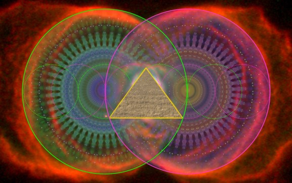 Great Pyramid Vesica