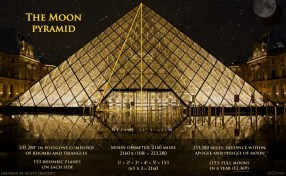 Moon Pyramid Louvre
