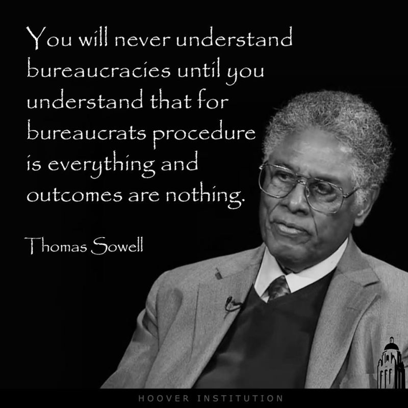 sowell bureaucracts