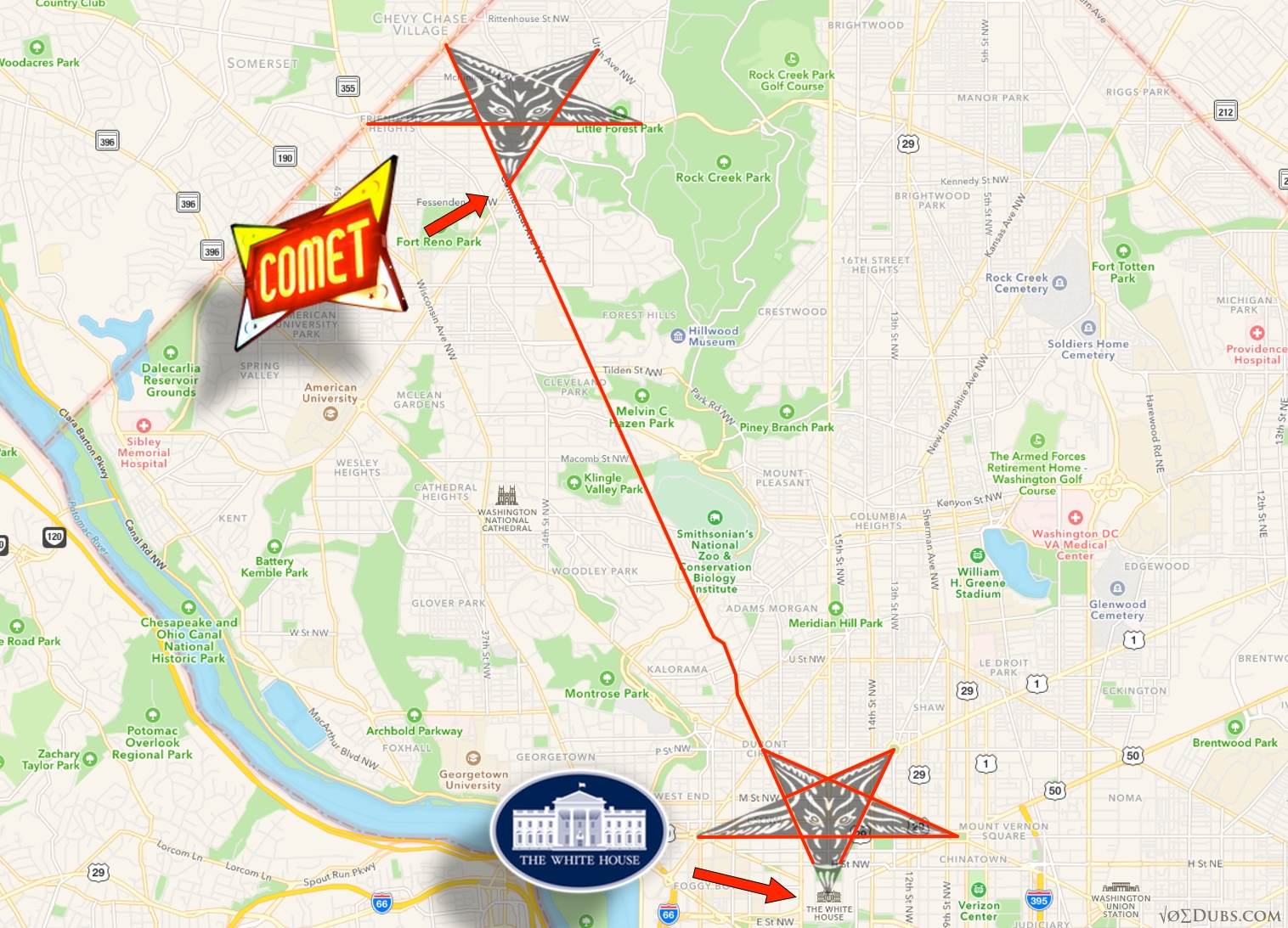 The ping pong pizza pentagram pedogate part 1 the two inverted pentagrams of washington dc buycottarizona