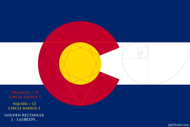 Colorado Flag Maths