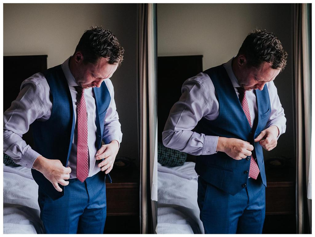 Rustic Wedding Groom Attire | Hanover Wedding
