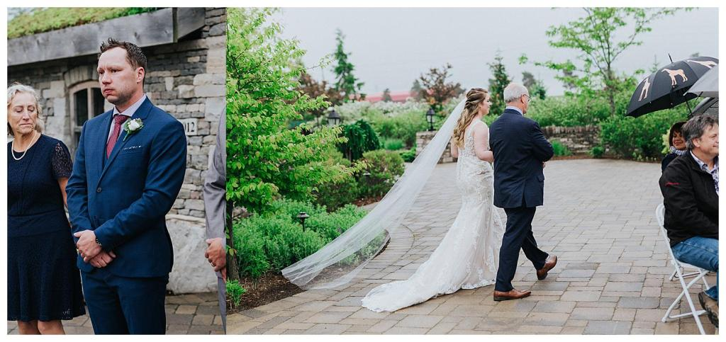 Bride walking down the aisle | Hanover Wedding | Special Events Centre