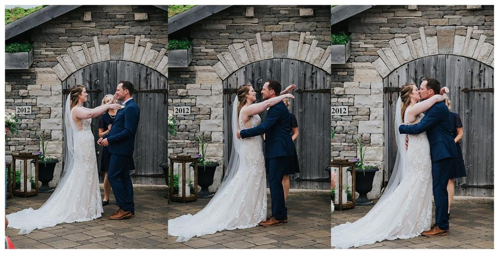 First Kiss | Hanover Wedding | The Special Events Centre