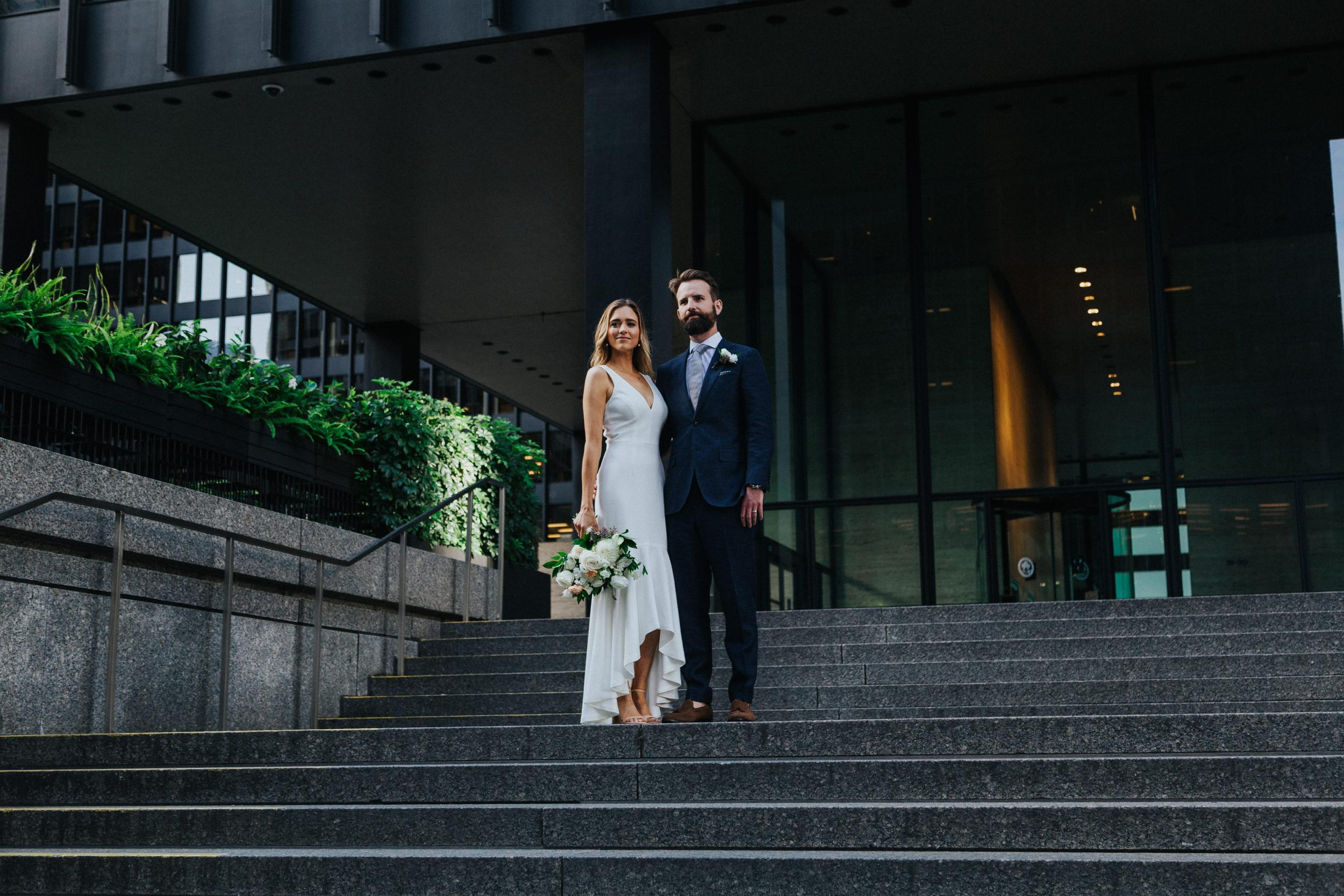 Downtown Toronto Wedding Photography | Financial District