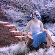Infrared Portraits and Depth-of-Field