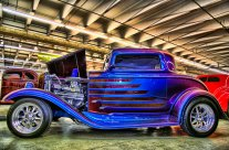 It's Winter; Time for  Indoor Car Show Photography
