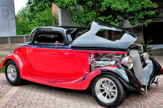 How to photograph hot rods