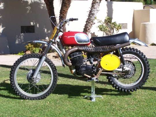 Steve McQueen's bike