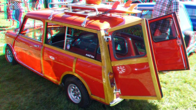 Mini Cooper woodie