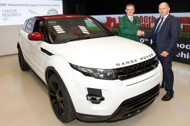 Land Rover Celebrates 1,000,000 Vehicles Built at Halewood