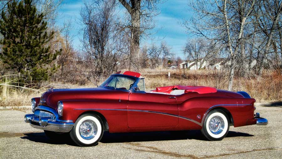 The 1953 Buick Roadmaster Skylark