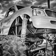 Cars & Trucks in Black & White