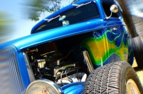 Shooting a Hot Rod with a Fish-Eye Adapter