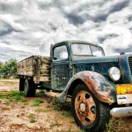 Photographing an Old Truck on the Plains