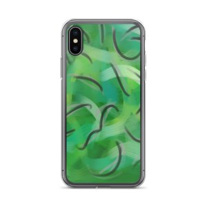 Envy Me Green iPhone case
