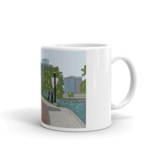 The Woodlands Waterway mug