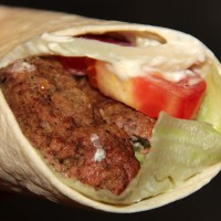 Gyros from leftover koobideh or joojeh