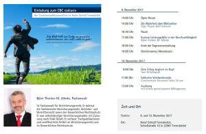 Rechtsanwalt Björn Thorben M. Jöhnke referiert bei der Continentale Versicherung zum Thema Berufsunfähigkeitsversicherung