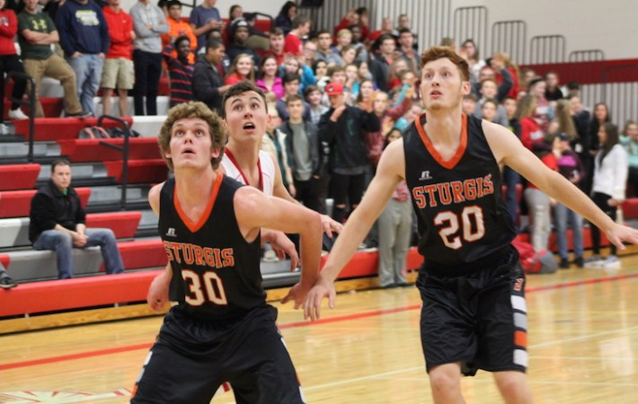 Video: Sturgis overpowers Constantine in boys basketball season opener