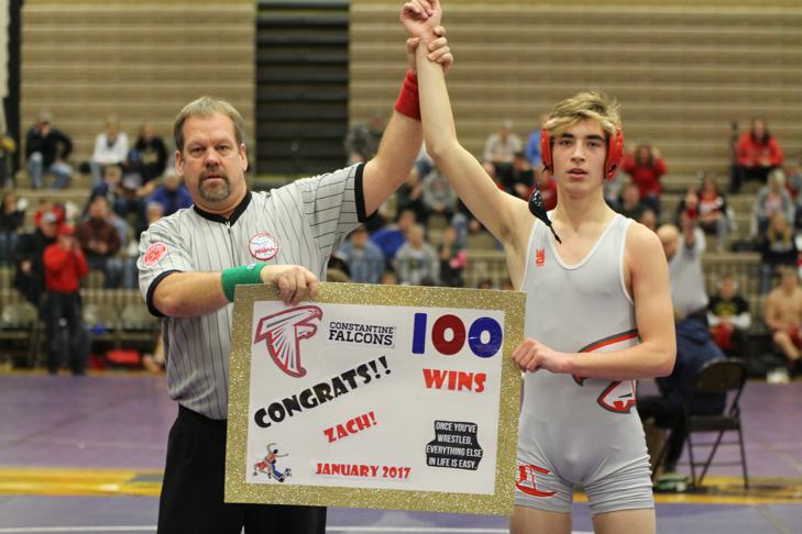 Three Rivers and Constantine wrestling teams see tough competition at Three Rivers Super Duals