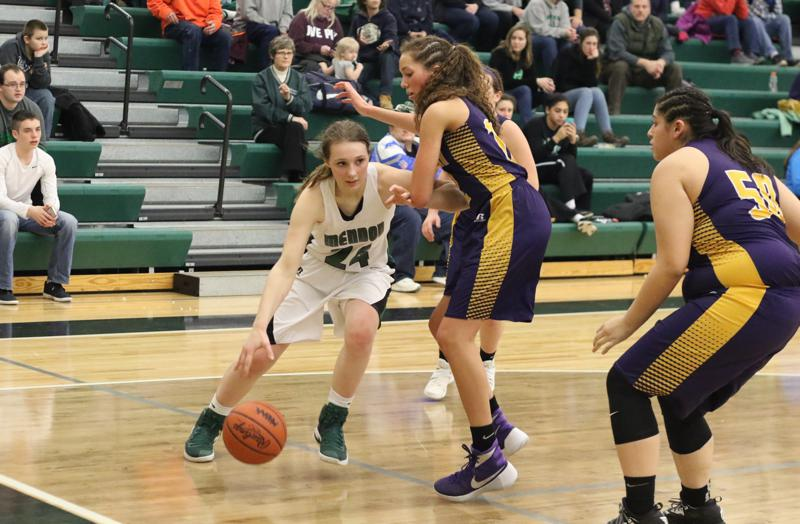Gallery: Bronson girls basketball team shuts down Mendon in second half