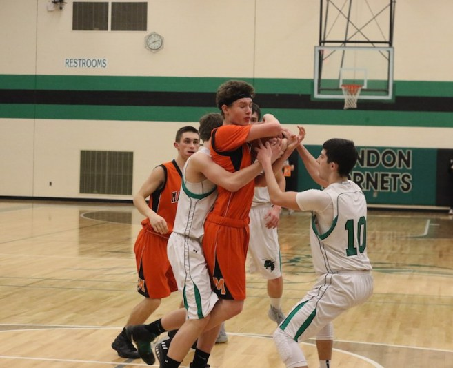 Marcellus boys storm past Mendon in fourth quarter to win Class D district basketball title