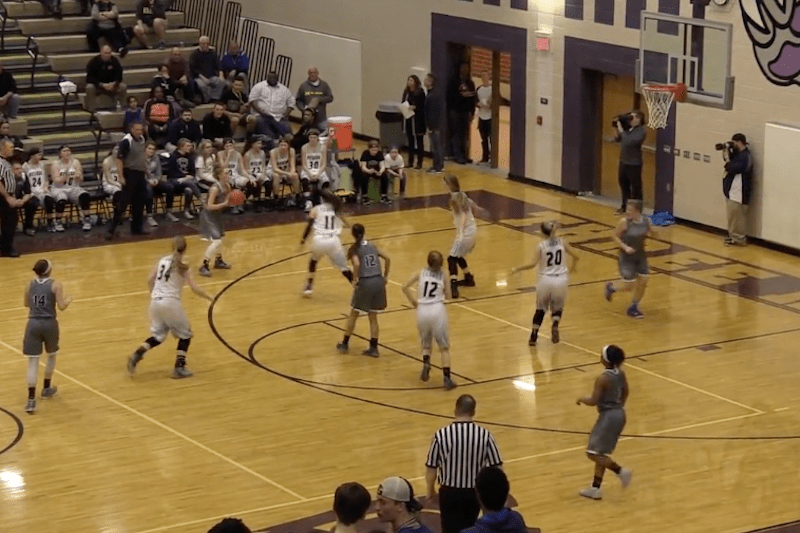 Video: Otsego moves past Three Rivers in Class B girls regional semis