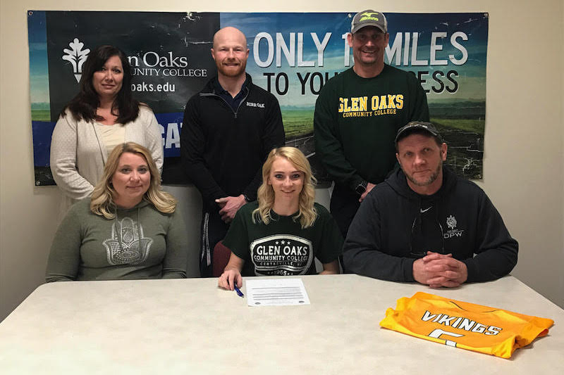 Burr Oak's Carly Kyle signs with Glen Oaks volleyball