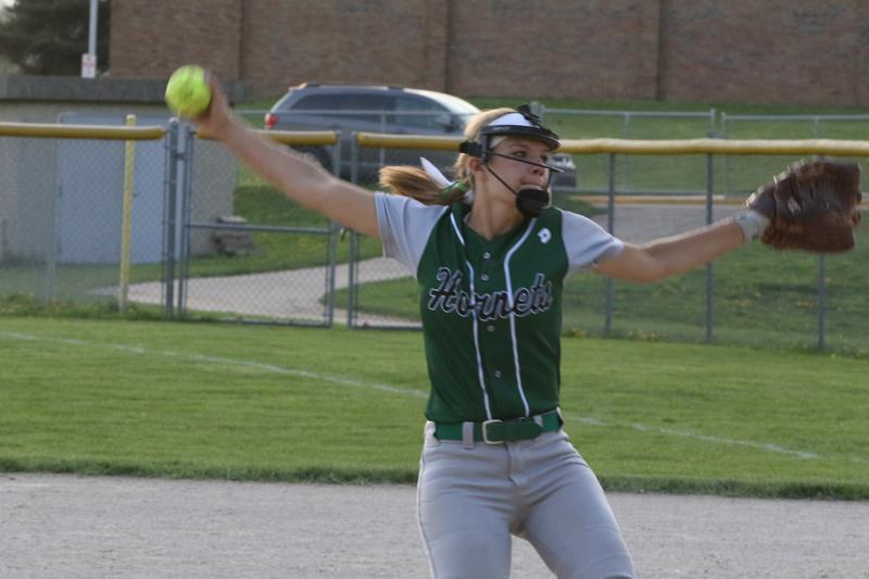 Mendon softball experiences little resistance in wins at Kalamazoo Central