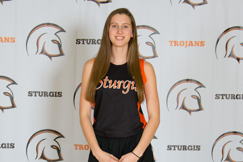 Safety Glasses USA Girls Track Athlete of the Week: Sturgis' Lexi Pueschel