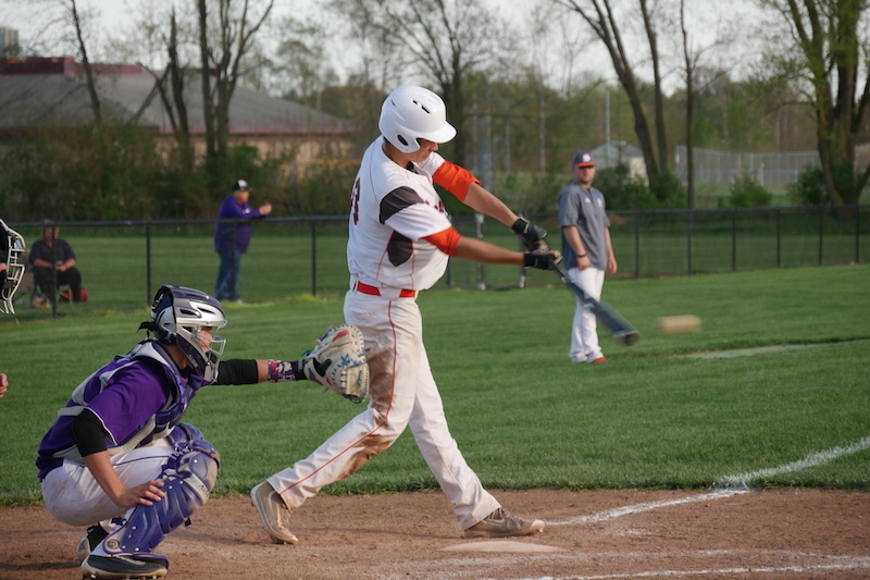Video: Three Rivers and Sturgis trade Wolverine baseball wins