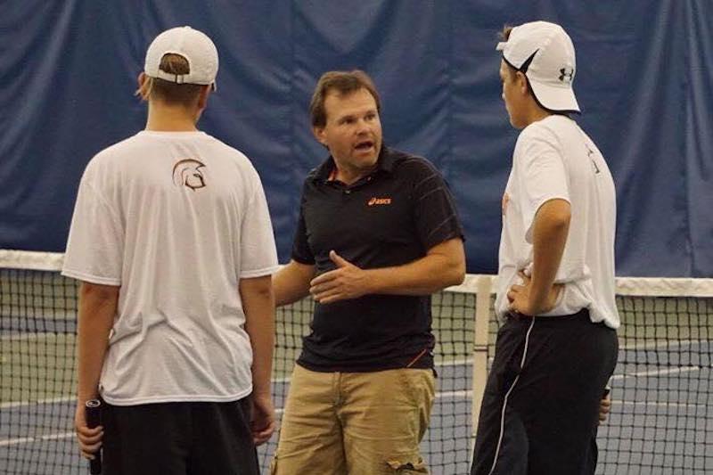 Sturgis boys tennis team starts 2017 season against state's best in Petoskey