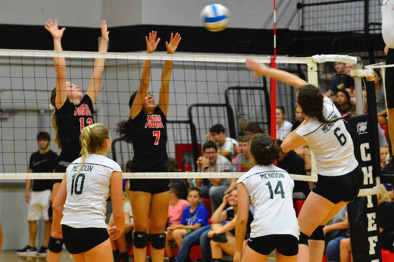 Gallery: Mendon volleyball sweeps White Pigeon on the road in Southwest 10 match