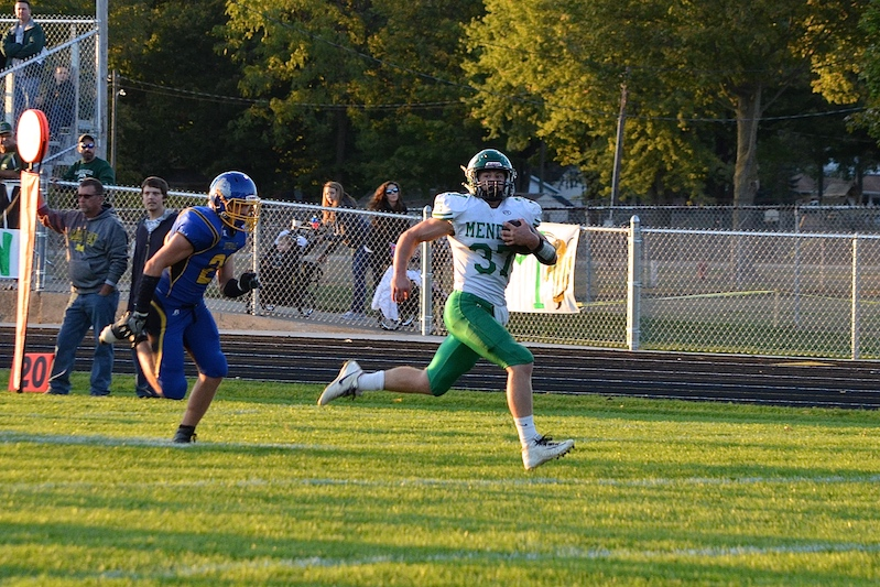 Video: Mendon blows out Centreville in Week 6 Southwest 10 Conference matchup