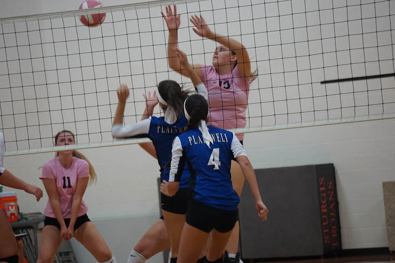 Sturgis and Three Rivers volleyball teams fall in Wolverine Conference play