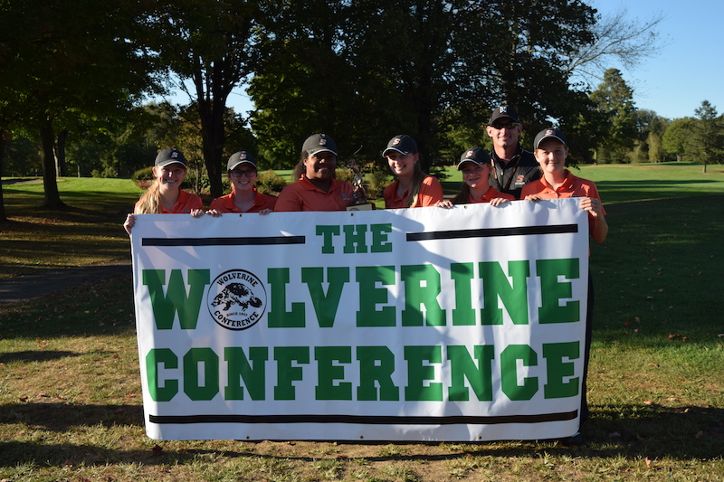 Sturgis wins third straight Wolverine Conference golf title, Three Rivers' Taylor individual champ