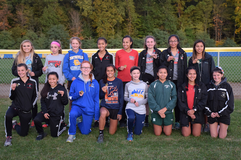 Mendon boys second, Centreville girls fourth at Southwest 10 Conference cross country championship