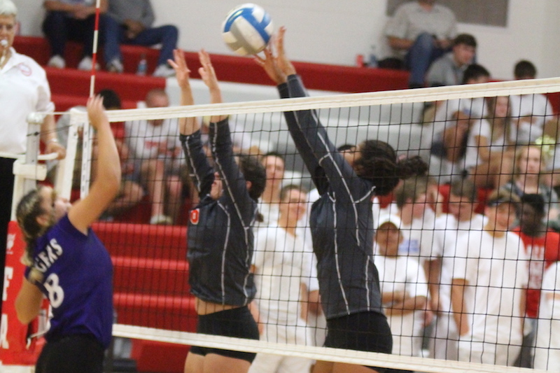 Constantine secures SAC volleyball win at home vs. Lawrence