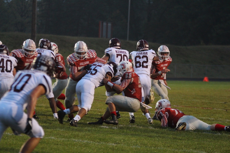 Fifth-ranked Watervliet too much for Constantine to handle in Week 7 SAC football matchup