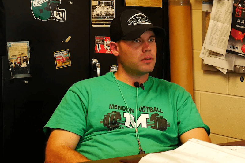 Video: Interview with Mendon football coach Bobby Kretschman